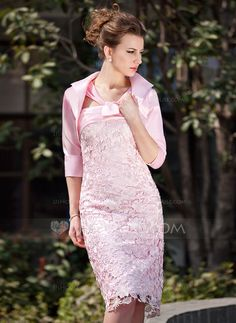 Mother+of+the+Bride+Dresses+-+$152.99+-+A-Line/Princess+V-neck+Knee-Length+Charmeuse+Lace+Mother+of+the+Bride+Dress+With+Ruffle+(008005937)+http://jjshouse.com/A-Line-Princess-V-Neck-Knee-Length-Charmeuse-Lace-Mother-Of-The-Bride-Dress-With-Ruffle-008005937-g5937?ver=0wdkv5eh