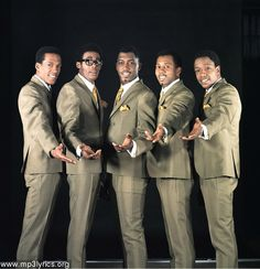 These are the original members of the Temptations. Though each had their own struggle they were the best at what they did. From their sharp suits, stylist choreography and distinctive vocal one would have never known...