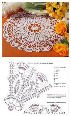 Crochet Doily Diagram, Crochet Mandala Pattern, Crochet Circles, Crochet Chart, Thread Crochet, Crochet Stitches, Crochet Dollies, Crochet Gifts, Christmas Crochet Patterns