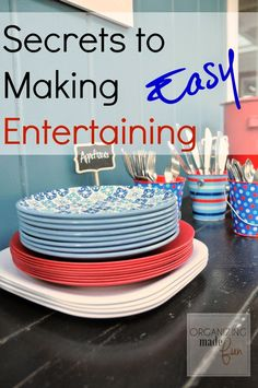 My Secrets to Making {Summer} Entertaining EASY :: OrganizingMadeFun.com