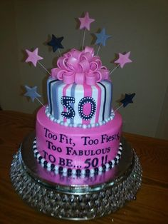 My Favorite Food Recipes 50th Birthday Cake Ideas
