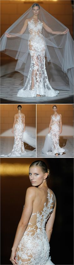 Just because it reminds me of Cher in her glory days...Pronovias 2015 Bridal Collections – Fashion Style Magazine - Page 8