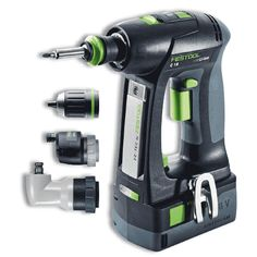"Festool 574735 18V 5.2Ah 1/2"" C 18 Li 5, 2-Set Cordless Drill"