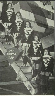 1971-1972 Varsity, South High School, Pueblo, Colorado. Cheerleading Pictures, Cheerleading Uniforms, Old School, High School, Pueblo Colorado, Band Uniforms, Saddle Shoes, Movie Posters, Vintage