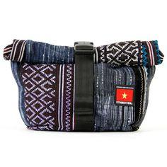 Socially Responsible Laptop Bags by Ethnotek - Direct Trade - Fair Trade - Social Entrepreneurs - Handmade Textiles - Global Artisans - Vietnamese Textiles - Bike Bags - Fanny Pack - Festival Concert Bag - Mini Backpack - iPad bag - Day Pack - www.EthnotekBags.com