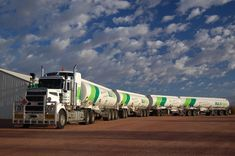Australian road train #fuel #transport #lorry #truck Via: http://www.skyscrapercity.com/showthread.php?p=31215194