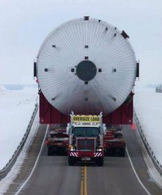 Modzilla 2 the giant module used in Alberta's oil sands.