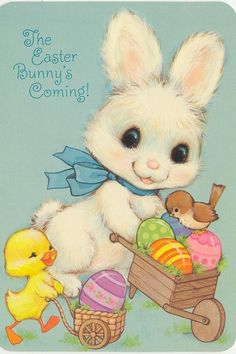 "Search results for ""vintage easter cards"" on Yandex. Easter Art, Hoppy Easter, Easter Crafts, Easter Bunny, Easter Eggs, Vintage Greeting Cards, Vintage Postcards, Ostern Wallpaper, Easter Illustration"
