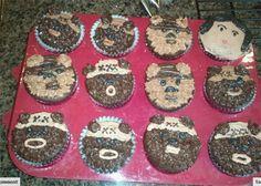 YAY! Jenni and I made ewok cupcakes today!