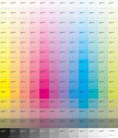 An eco-designed color guide and an open-source intended to use less ink, less paper and less energy. Eco Brand, Color Swatches, Color Pallets, All The Colors, Behance, Branding, Packaging, Layout, Inspiration