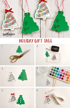 Creating Open Me Holiday Gift Tags by Spellblogger Alli Roth. Sharing an easy + fast way to customize your gift giving for the holidays! http://www.spellbindersblog.com/creating-open-holiday-gift-tags/?utm_campaign=coschedule&utm_source=pinterest&utm_medium=Spellbinders&utm_content=Creating%20Open%20Me%20Holiday%20Gift%20Tags