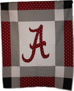 Alabama+Quilt++Twin+Size+by+QuiltsbyCaron+on+Etsy,+$200.00