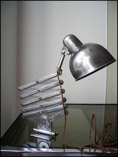Beautiful scherenlampe scissor lamp light for industrial interior design – We collect similar ones – Only/Once – www.onlyonceshop.com
