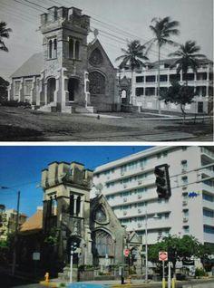 Capilla Nuestra Señora de Lourdez, Miramar, Santurce, Puerto Rico.