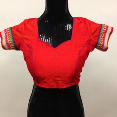 Silk Blouse - Red