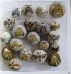 for inspiration - something to do with felted balls of dryer lint