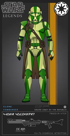 Commander AT-RT Assault Squadron by on DeviantArt - Star Wars Clones, Star Wars Droides, Star Wars Fan Art, Images Star Wars, Star Wars Pictures, Star Troopers, Clone Trooper, Guerra Dos Clones, Star Wars Timeline