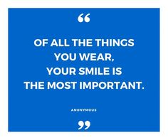 Wear your smile with pride! #mismile