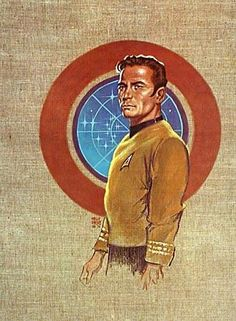 STAR TREK OFFICERS (SET OF 7 PRINTS) by Kelly Freas SciFi and Fantasy Art