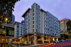 Where to Stay in Seattle: AC Hotel by Marriott Seattle Bellevue/Downtown Seattle Vacation, Seattle Travel, Downtown Seattle, Seattle Pictures, South Lake Union, Downtown Restaurants, Ac Hotel, Modern Properties, Hotel Concept