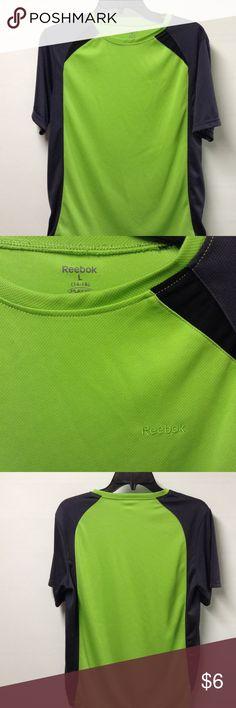 Reebok shirt 100 polyester 14 - 16 (L) Reebok Shirts & Tops Tees - Short Sleeve