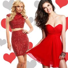 CAUTION❗️Contents are HOT ❤️ Get Valentine's Day looks to love on edressme.com! #edressme #valentinesdresses #vday #pretty #dresses