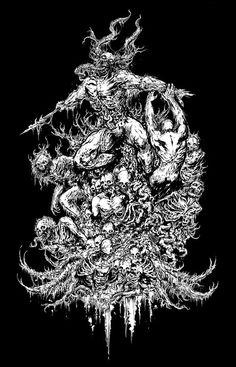 Marco Hasmann - Abominable Putridity shirt  https://www.facebook.com/marco.hasmann