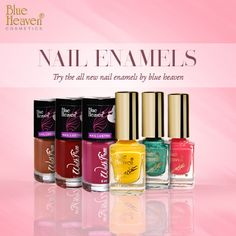 Buy Blue Heaven nail enamels that come in varied colour shades, gives full coverage to your nails and intense colour finish to give a matte or shiny finish to your nails.💅💅💅 #makeup #makeupparty #loveit #nails #nail #nailart #nailpolish #nailpaint #beauty #beautyful #nailswag #colours #creative #nailsdesign #nailsartist #nailsoftheday #cute #selfie #amazing #instagood #nailsaddict #nailsofig #nailstoinspire #nailstyle