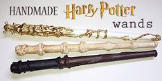 DIY Harry Potter Wands & List of Spells / by Bambinis / Round up by Busy Mom's Helper Harry Potter Wands List, Theme Harry Potter, Harry Potter Spells, Harry Potter Shirts, Harry Potter Wedding, Harry Potter Birthday, Harry Potter Characters, Harry Potter Halloween, Expecto Patronum Harry Potter