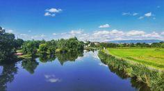 #Eschwege summer reflections... #Werratal  #EnjoyGermanNature #GermanyChallenge #TandemChallenge