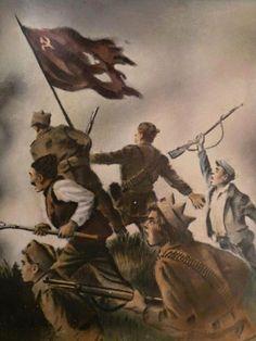 Soviet Revolutionary Painting