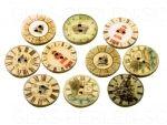 Holzknöpfe von amaraperlen.de für deine Bastelprojekte, Knopfketten, Knopfanhänger