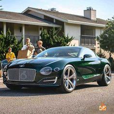 Visit The MACHINE Shop Café... ❤ Best of Bentley @ MACHINE ❤ (Bentley EXP10 Speed 6 Concept)