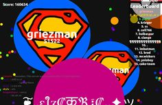 160634 score agario game // user screen shot agariohit.com - Player: griezman / Score: 1606340 - griezman saved mass 160634 scores user griezman to us and we have prepared a universal high score table agariohit.com