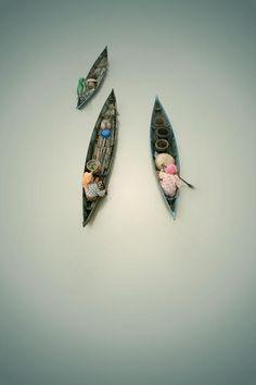 triple boats.... by budi 'ccline' on 500px