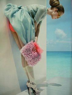 Summer Fashion Editorial on the beach