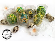 Handmade Toys, Etsy Handmade, Tatting Lace, Easter Baskets, Shades Of Green, Easter Eggs, Unique Gifts, My Etsy Shop, Decorations