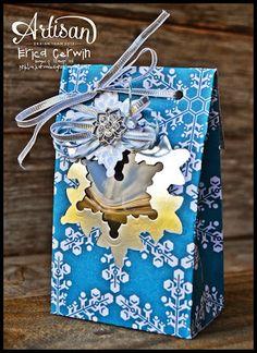 christmas gift bag by Pink Buckaroo