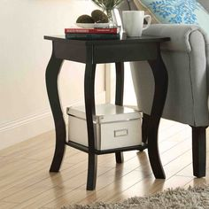 Convenience Concepts Designs2Go Ella Square End Table - 203045