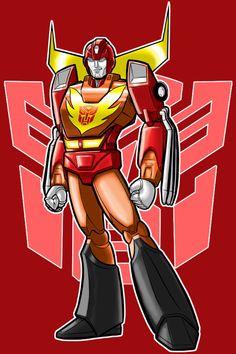 Autobot Hot Rod By Thuddleston.deviantart.com on @deviantART
