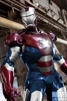 Iron Man 3 - Patriot Armor confirmed!