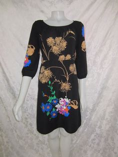 "Gorgeous ""LEONA EDMISTON"" ¾ Sleeve Dress Size 2 / 14 