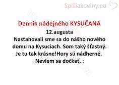 Denník nádejného KYSUČANA - Spišiakoviny.eu