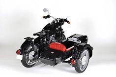 Lego BMW R60 Motorbike Lego Motorbike, Lego Truck, Amazing Lego Creations, Lego News, Lego Moc, Lego Technic, Legos, Lego Auto, Lego Vehicles
