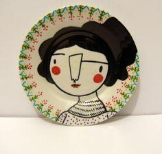 Beautiful plate done in Pebeo Custom Plates, Decorative Plates, Puerto Rico, Sculpture, Mugs, Google, Home Decor, House, Beautiful