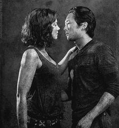 The Walking Dead - Glenn and Maggie, S4 fu