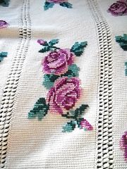 Ravelry: Rose Afghan 742-1 pattern by Columbia-Minerva