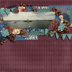 Walk the Line Vol 1 by Ponytails Designs and Autumn Odyssey Collection by Seatrout Scraps