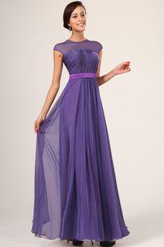purple bridesmaid dresses with sleeves