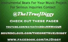 """Do you need """"Instrumental Beats For Your Music Project?"""" Connect with @Jay Anderson Today!! => https://twitter.com/The1TrueJDiggy => https://soundcloud.com/theonetruejdiggy => http://www.youtube.com/watch?v=3GvjNMWhUqM => https://www.facebook.com/ImJDiggy  #JDiggy Beats #TeamJDiggy"""